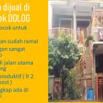 Dijual rumah dibilangan komp DOLOG kalimalang di jakarta timur hub gatot 0818 828 341