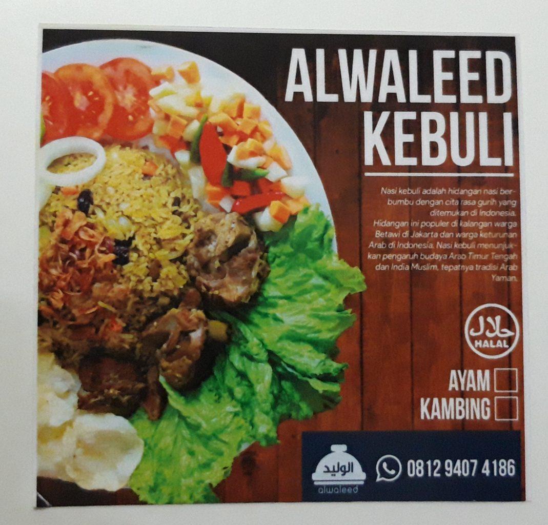 Nasi Kebuli Kambing di Bekasi Alwaleed