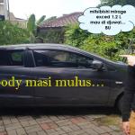 Mobil mitsubishi exc mirage 1.2 L dijual