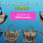 Batik daun model ecoprint tutorial