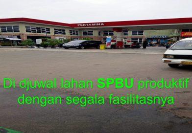 dijual lahan SPBU dan fasilitas