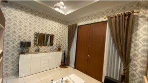 Jual wallpaper dinding model custom