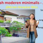 Dijual murah rumah minimalis 2 lantai diRenon
