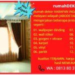 Jual wallpaper dinding & wallpaper 3D murah